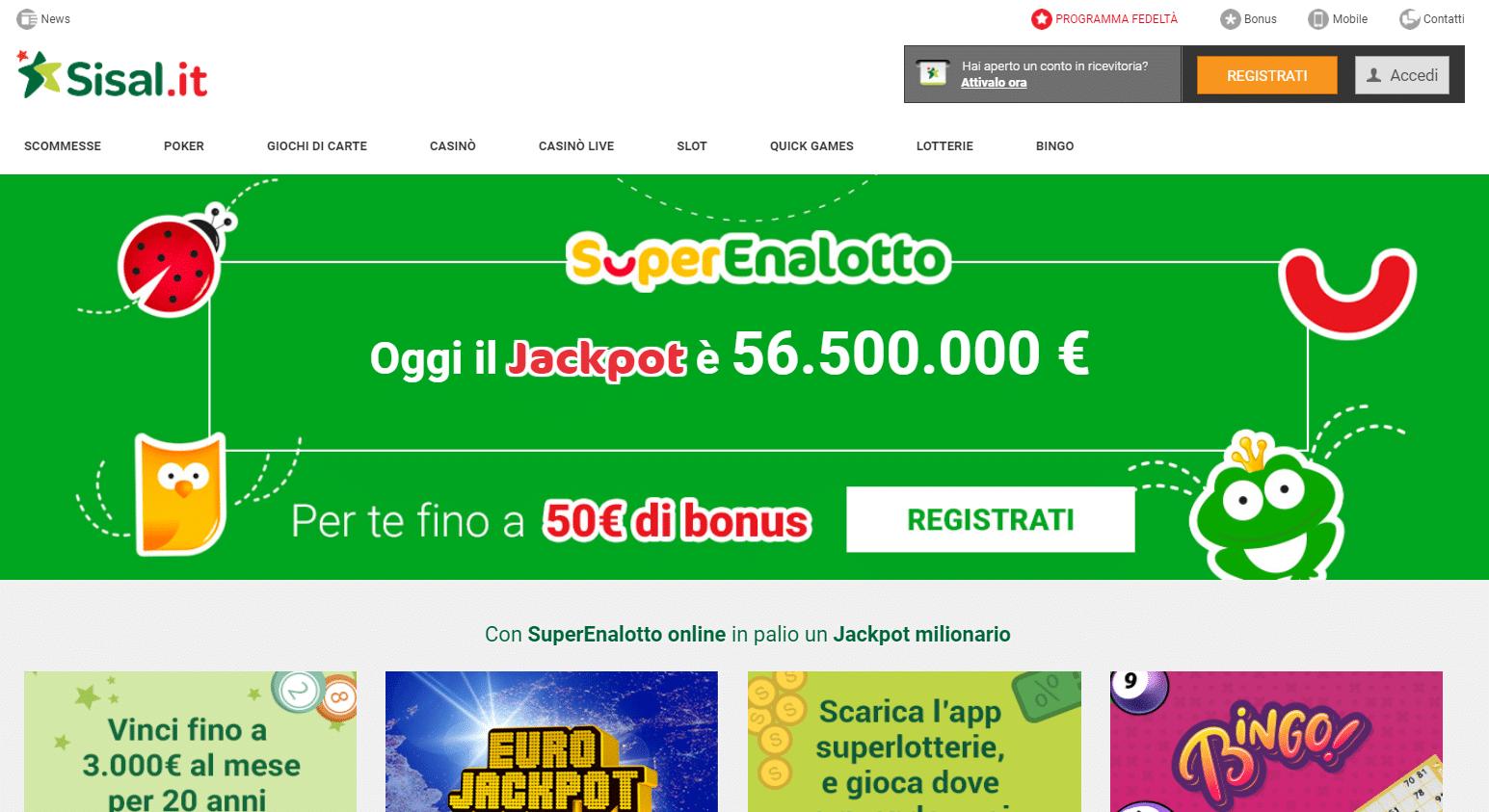 Codice Promo Sisal Giugno 2020: *MAX…* – fino a 225€ gratis